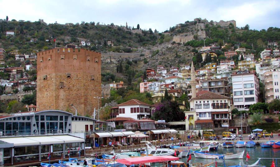 Alanya es una ciudad costera de Turquía