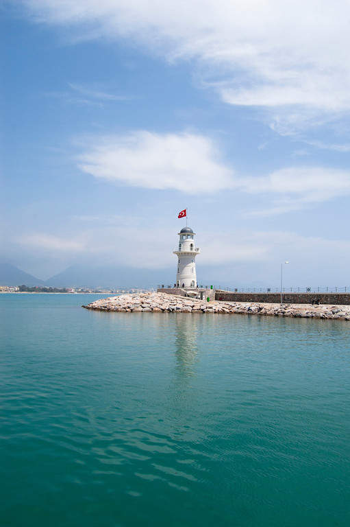 Faro en Alanya