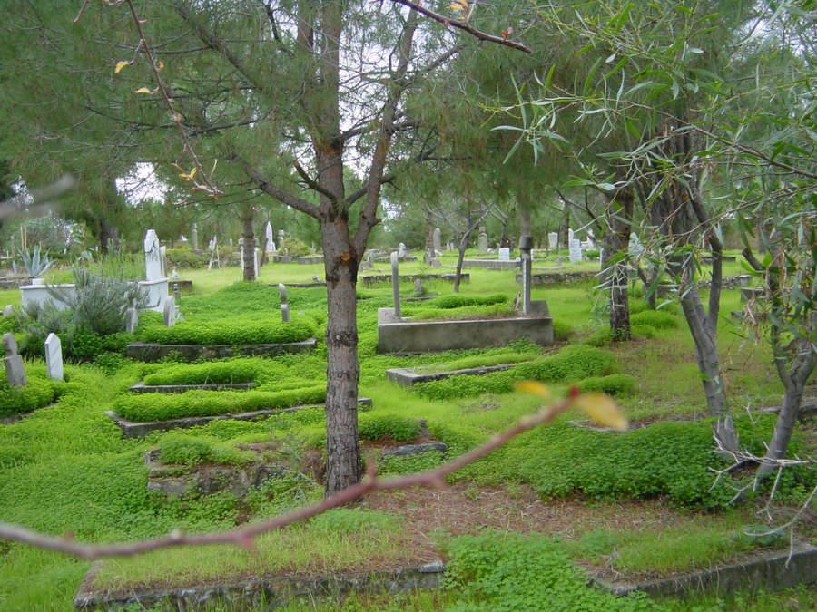 Cementerio en Alanya