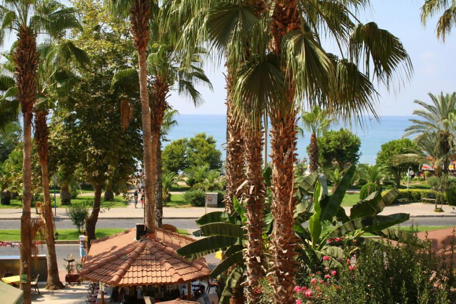 Zona turística y hotelera de Alanya