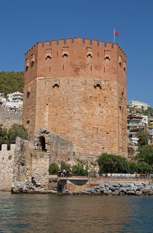 Kizil Kule, Torre Roja de Alanya