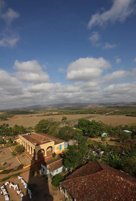 Valle de los Ingenios se ubica a 12 kilómetros de Trinidad