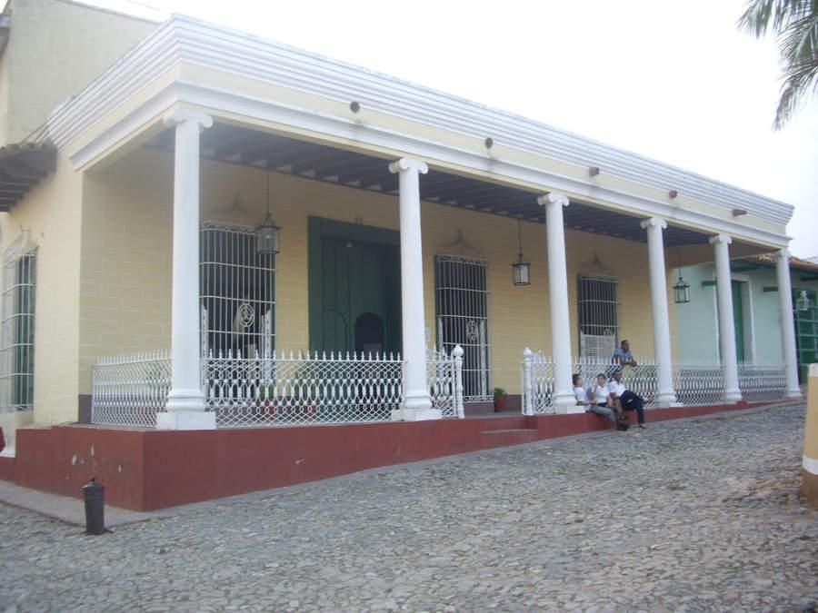 Casa Padrón, actualmente Museo de Arqueología Guamuhaya
