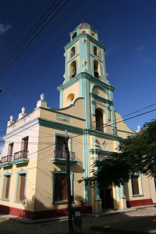 San Francisco de Asís, iglesia en Trinidad
