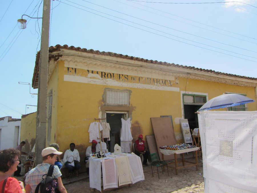 Artesanías en venta en Trinidad