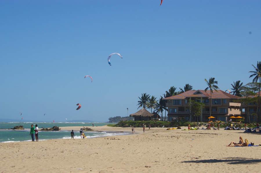 Cabarate ha sido sede de competiciones profesionales de kitesurf