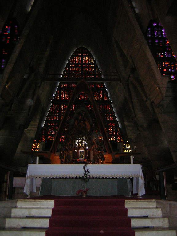 Interior de la Basílica de Higüey