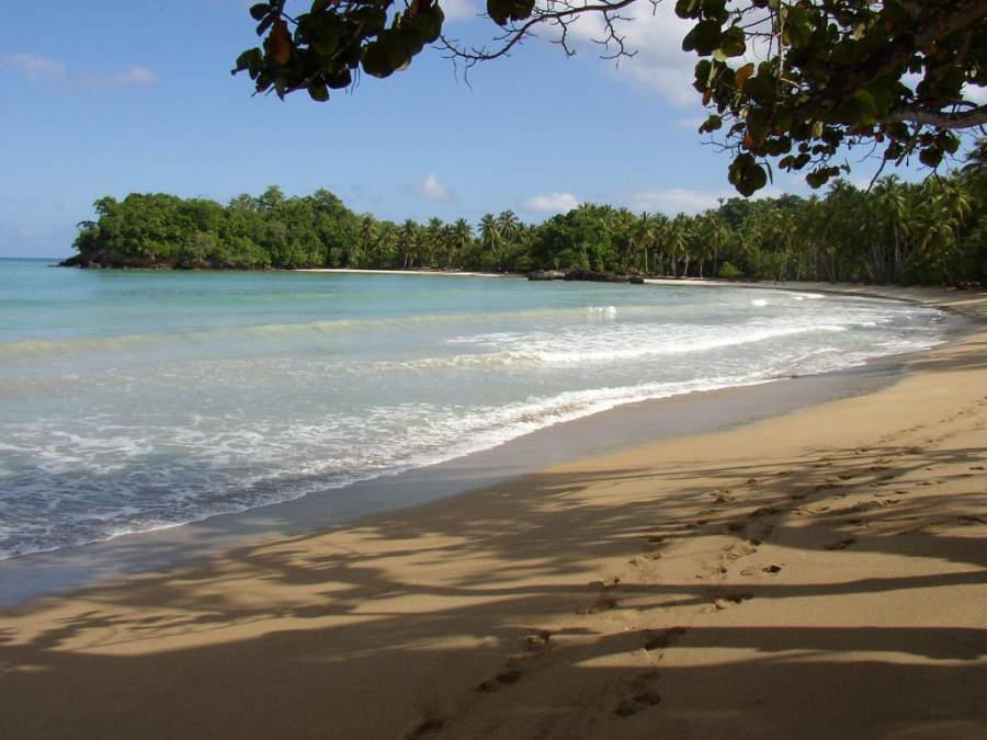 Playa tranquila en Las Terrenas
