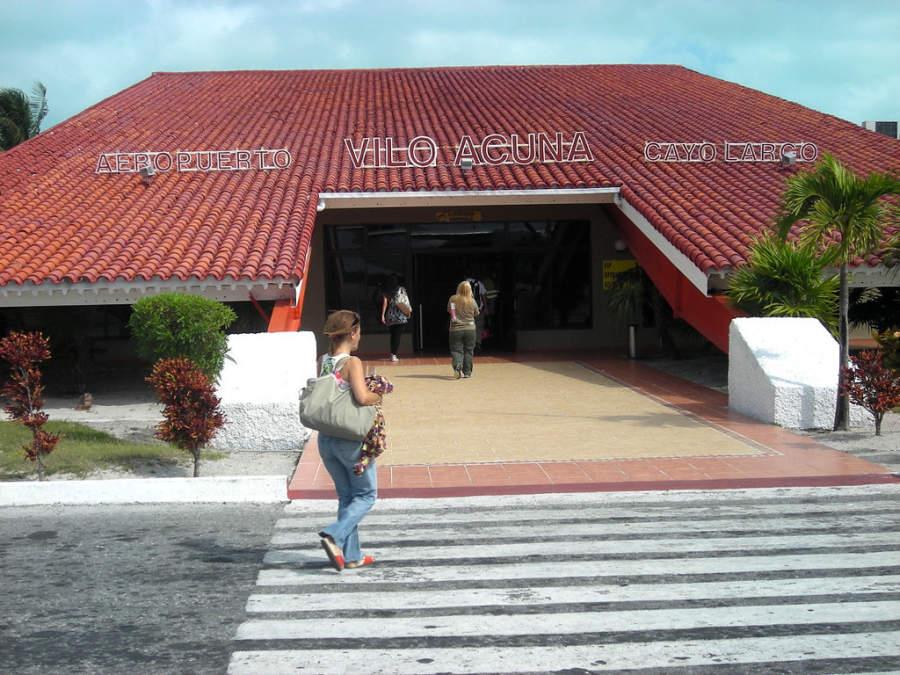 Aeropuerto internacional en Cayo Largo