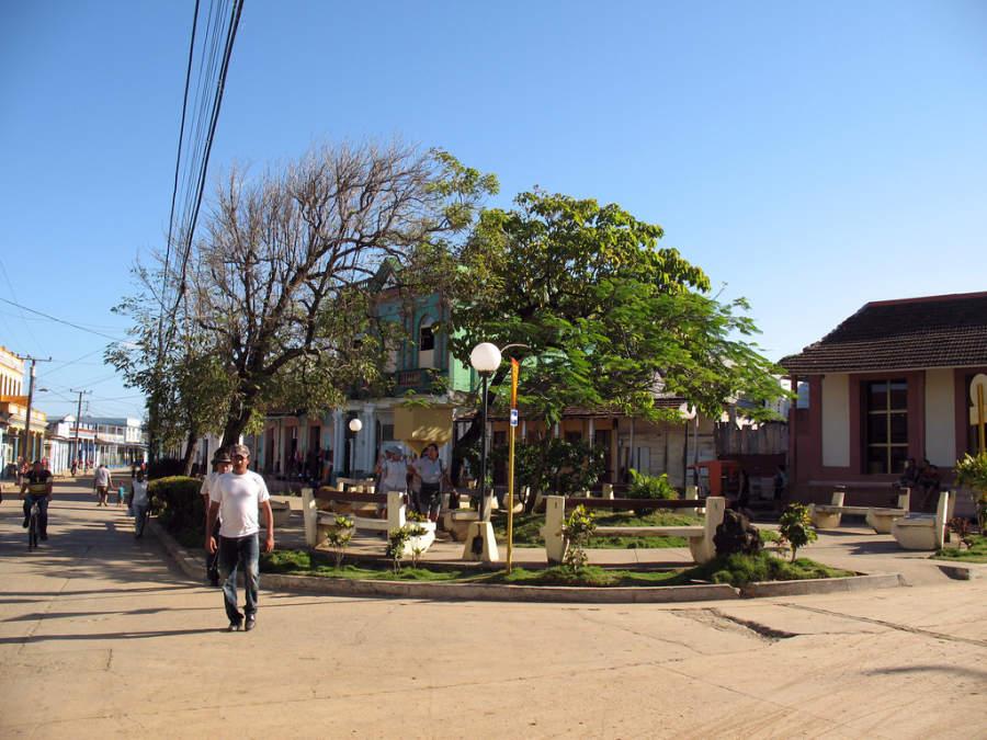 Parque en Baracoa