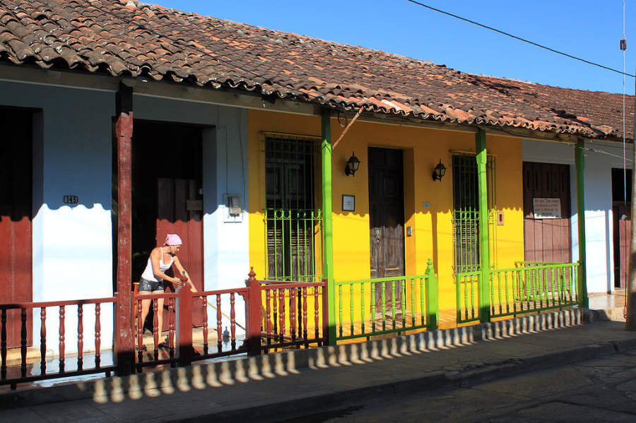 Casas típicas en Baracoa