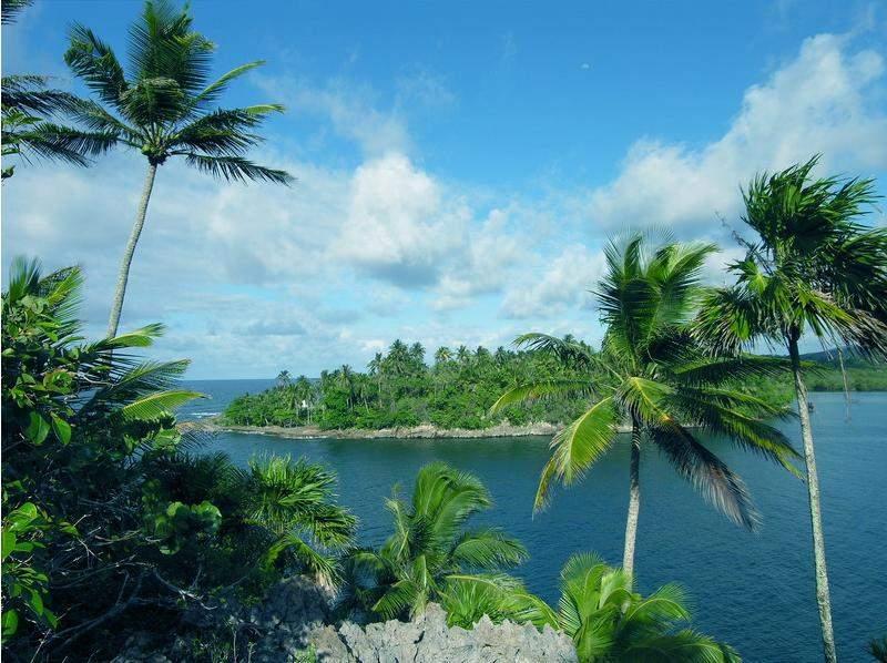 Entrada a la bahía de Taco en Baracoa