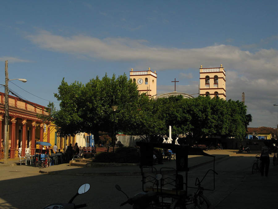 Parque Independencia en Baracoa