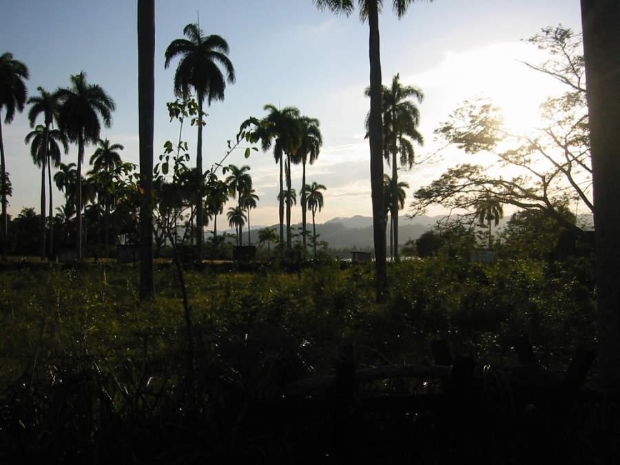 Puesta de sol en Baracoa