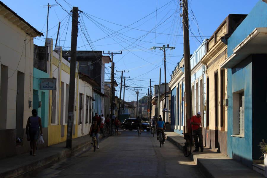 Avenida en Baracoa