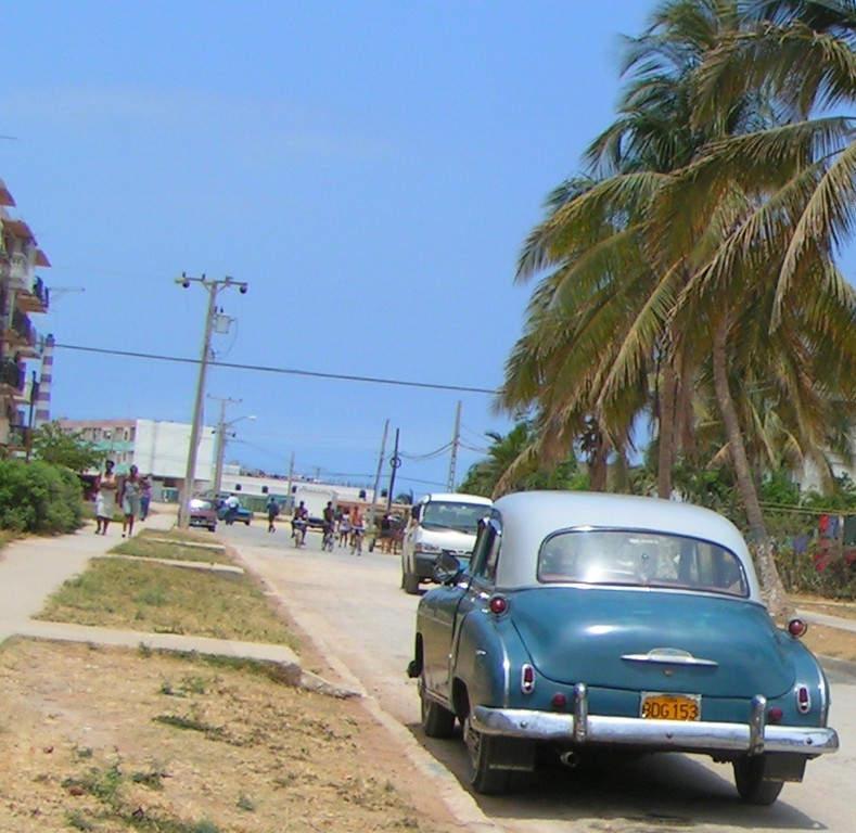 Calle en Santa Cruz del Norte