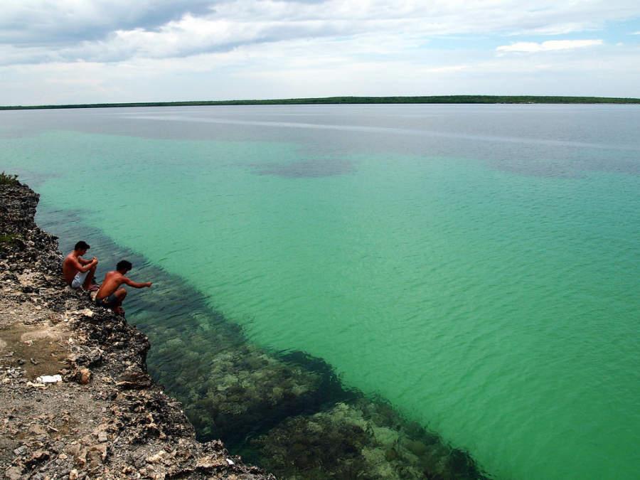 Barrera coralina en Cayo Las Brujas