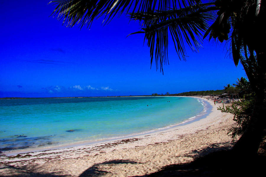 Playa en Cayo Las Brujas