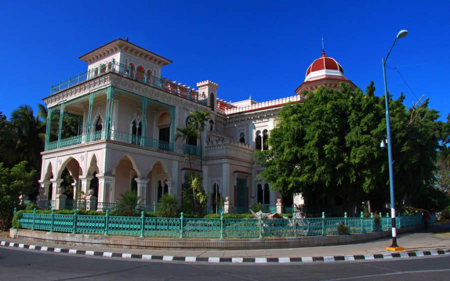 Palacio de Valle en Punta Gorda, Cienfuegos