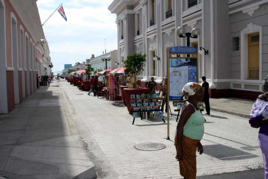 Tiendas de souvenirs en Cienfuegos