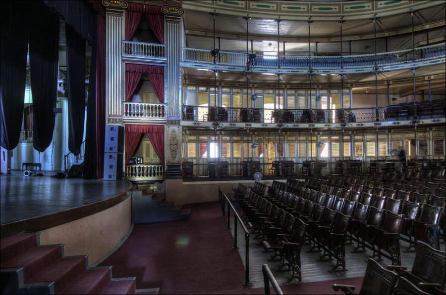 Interior del Teatro Tomás Terry en Cienfuegos