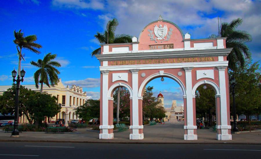 Arco del Triunfo, Parque José Martí