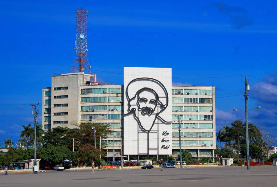 Plaza de la Revolución en Cienfuegos