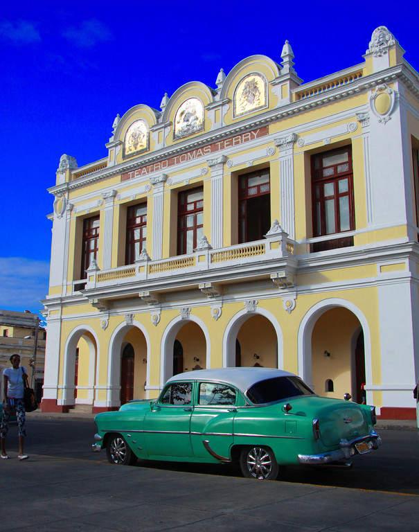 Teatro Tomás Terry en Cienfuegos