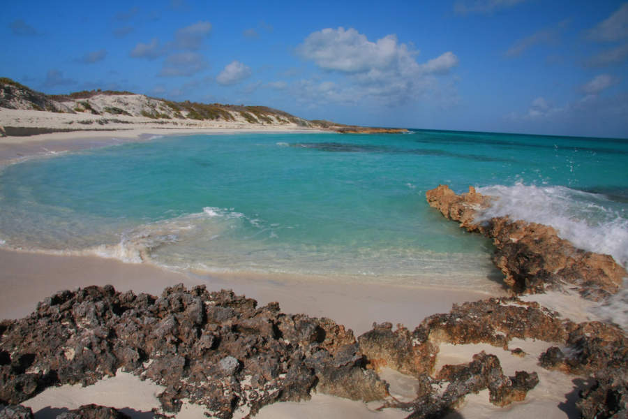 Hay arrecifes coralinos cerca de Cayo Santa María