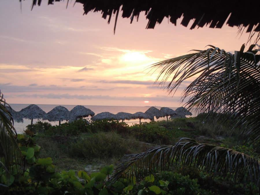 Puesta de sol en Cayo Santa María