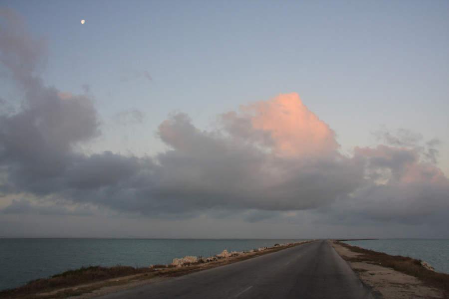 Carretera hacia Cayo Santa María