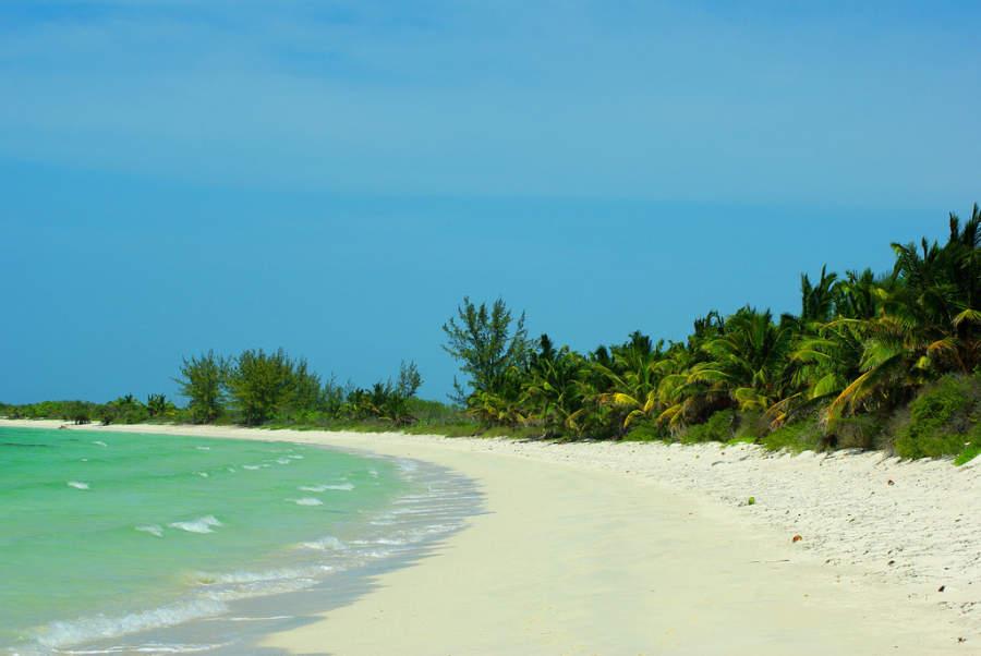 Playa solitaria en Cayo Santa María