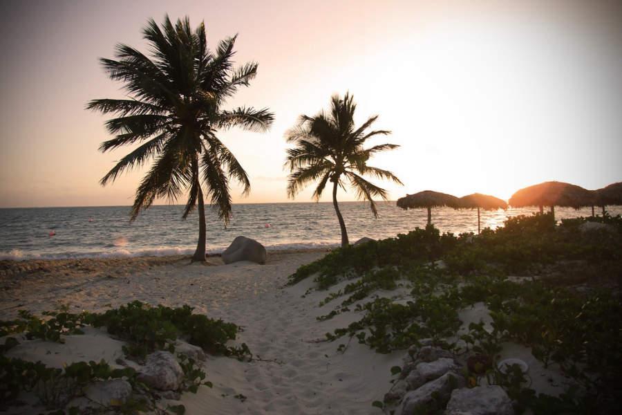 Atardecer en Playa Santa Lucía