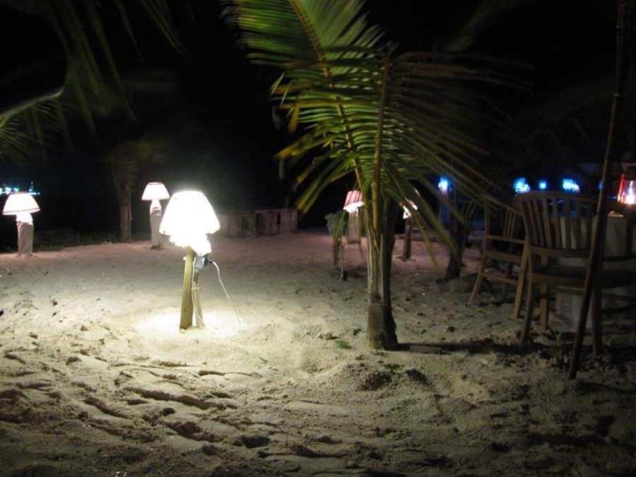 Evento en la playa de Savaneta