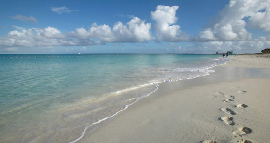 Eagle Beach es una playa y un barrio de la ciudad de Oranjestad