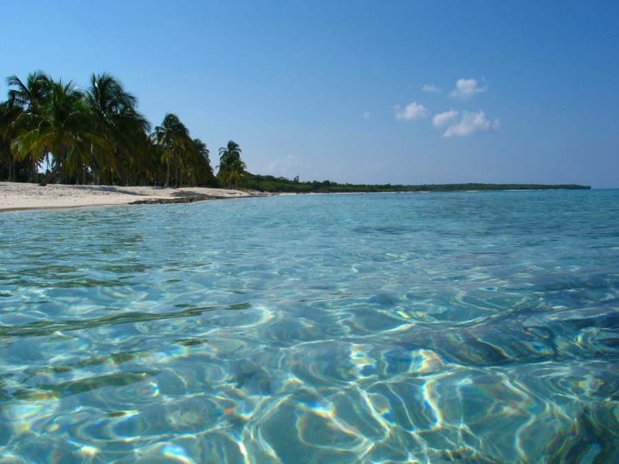 Playa María La Gorda en la península de Guanahacabibes