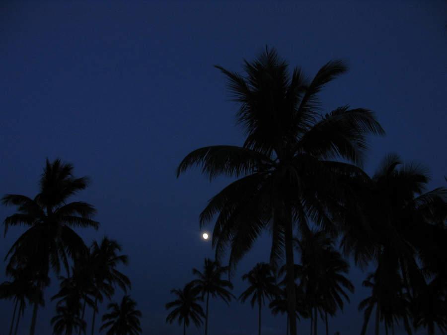 Anochecer en la península de Guanahacabibes