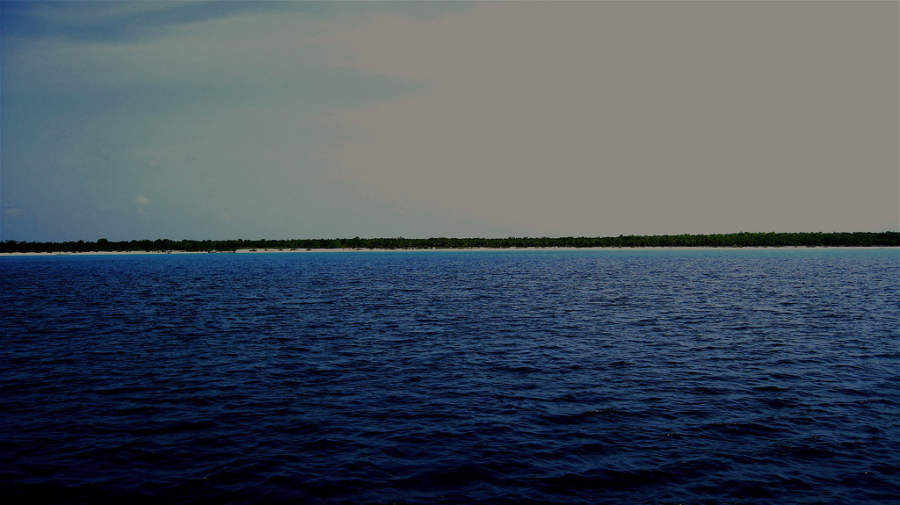 Vista de María La Gorda en la península de Guanahacabibes