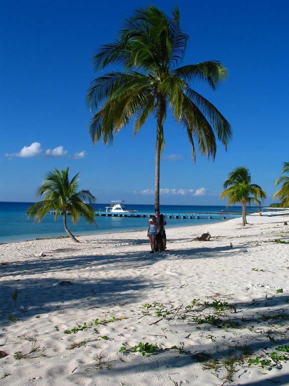 La playa María La Gorda se localiza en el Parque Nacional Guanahacabibe