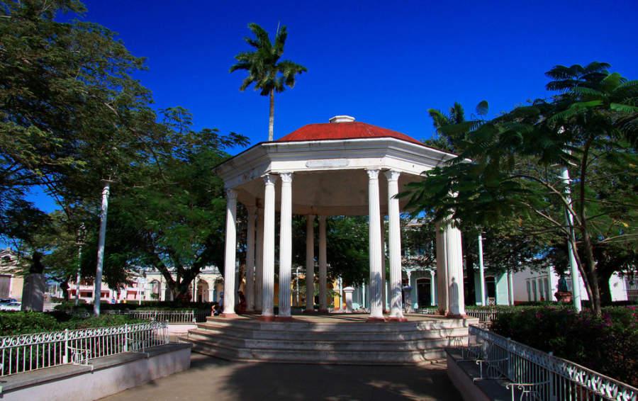 Quiosco en el Parque Martí de San Juan de los Remedios
