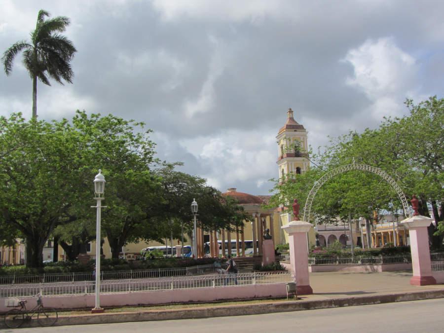 Parque central de San Juan de los Remedios
