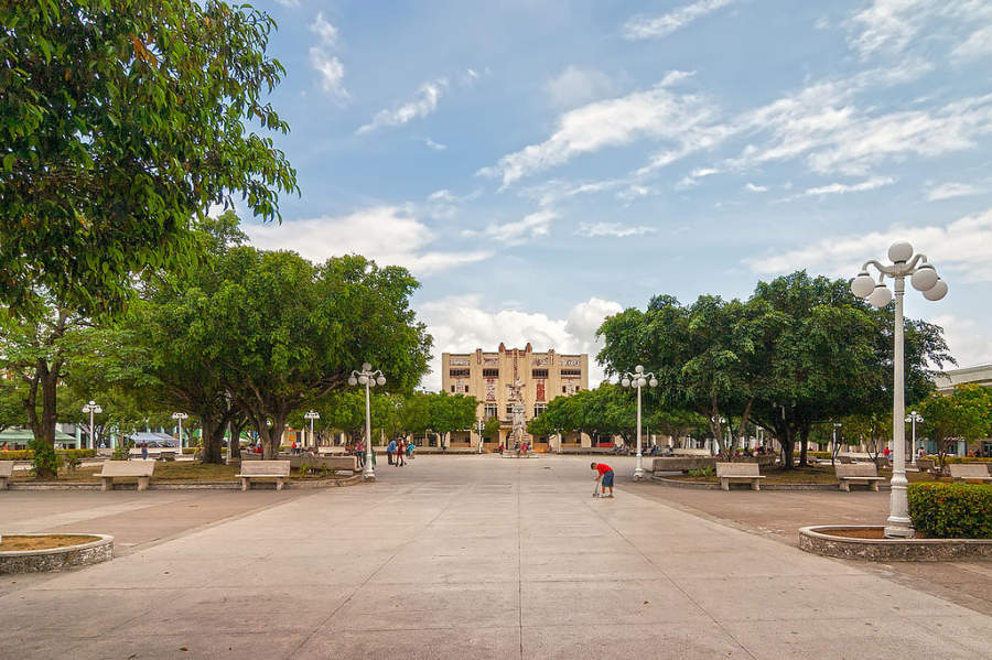 Parque Calixto García en Holguín