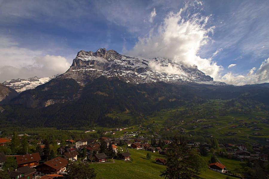 Grindelwald es un destino de esquí