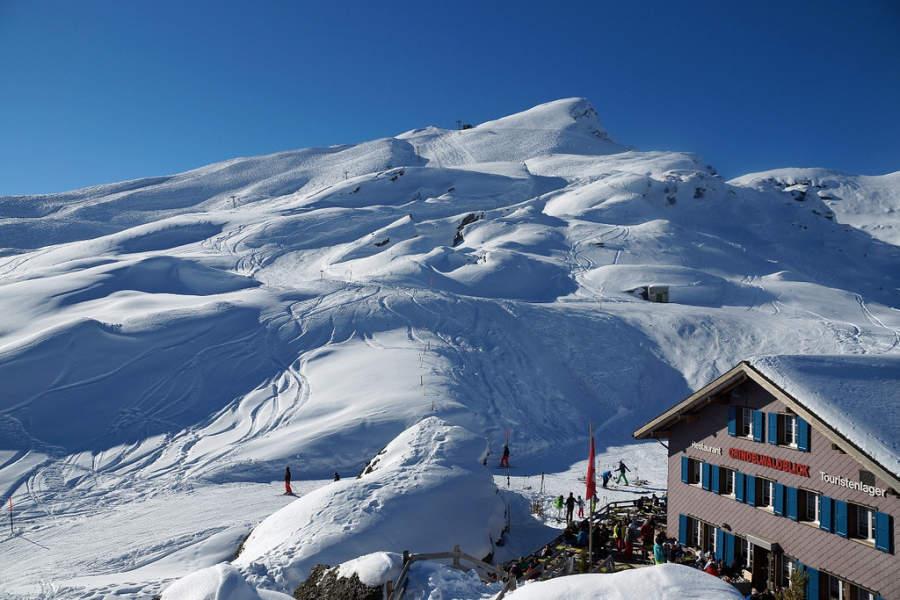 Estación de esquí en Grindelwald