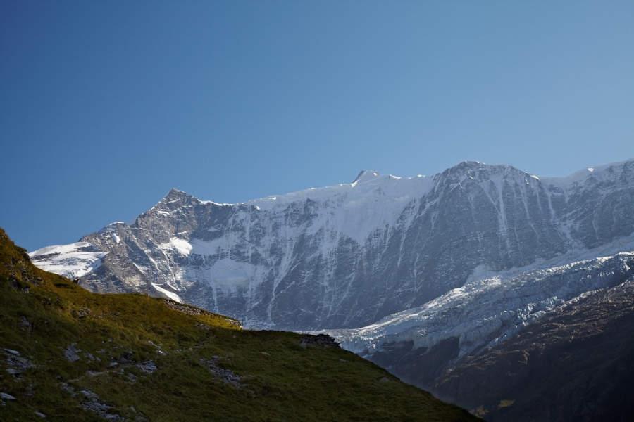 Grindelwald se ubica en los Alpes Berneses