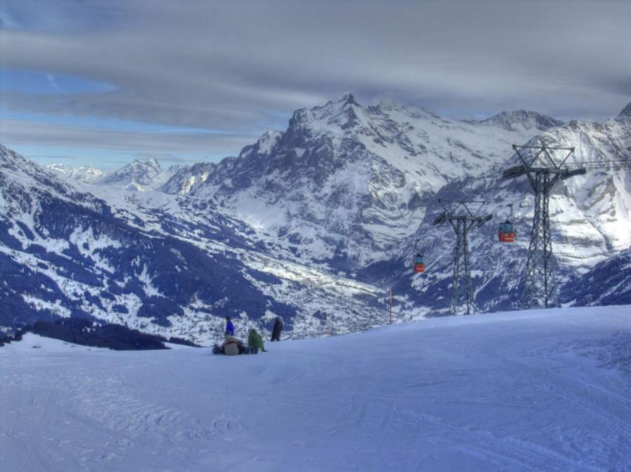 Grindelwald es famoso por su variedad de deportes de invierno