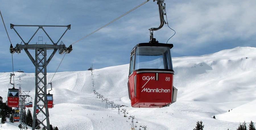 Teleférico en la región de Grindelwald