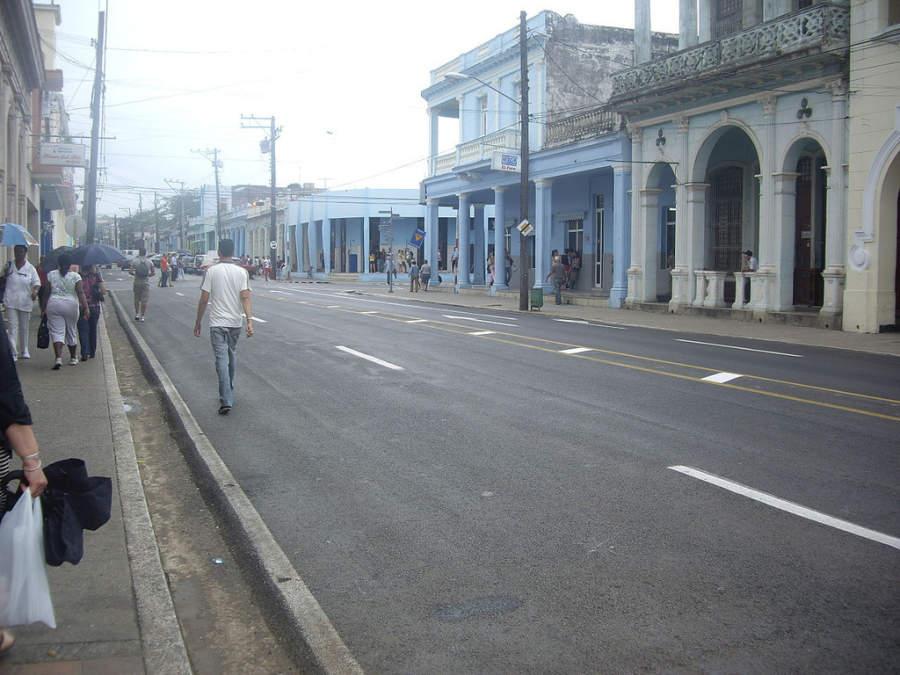 Avenida José Martí en Pinar del Río