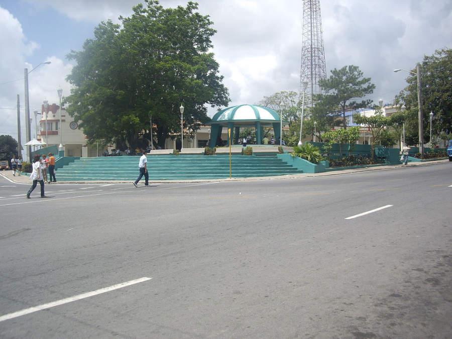 Parque Independencia en Pinar del Río