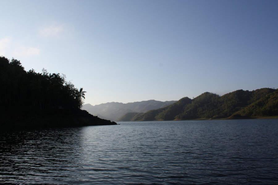 Hanabanilla está en una zona totalmente montañosa